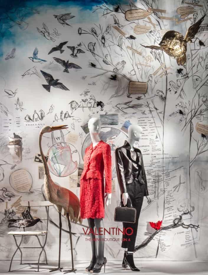 Vetrina Bergdorf Goodman
