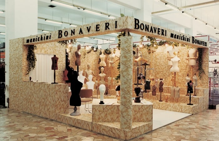 A Bonaveri Exhibition in the 1980s