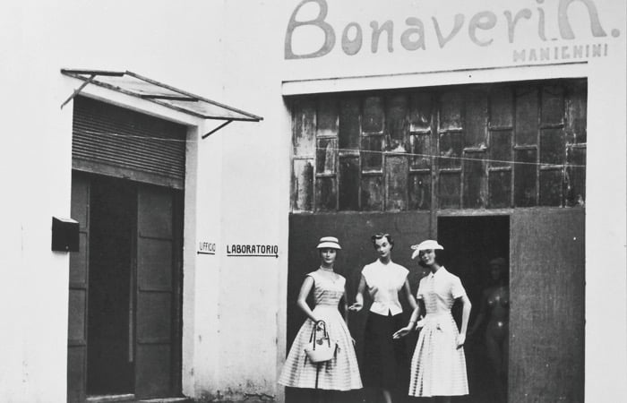Outside the Bonaveri factory