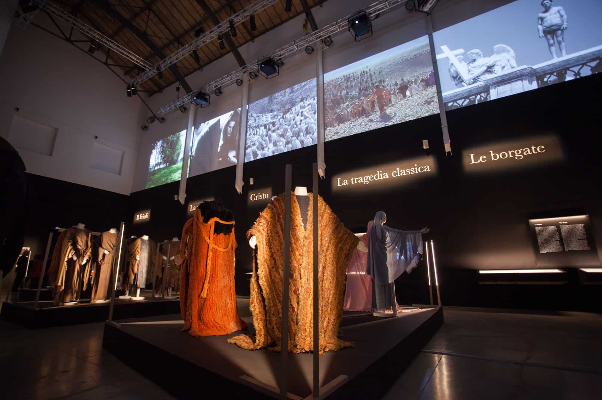 Bonaveri mannequins for pasolini exhibition