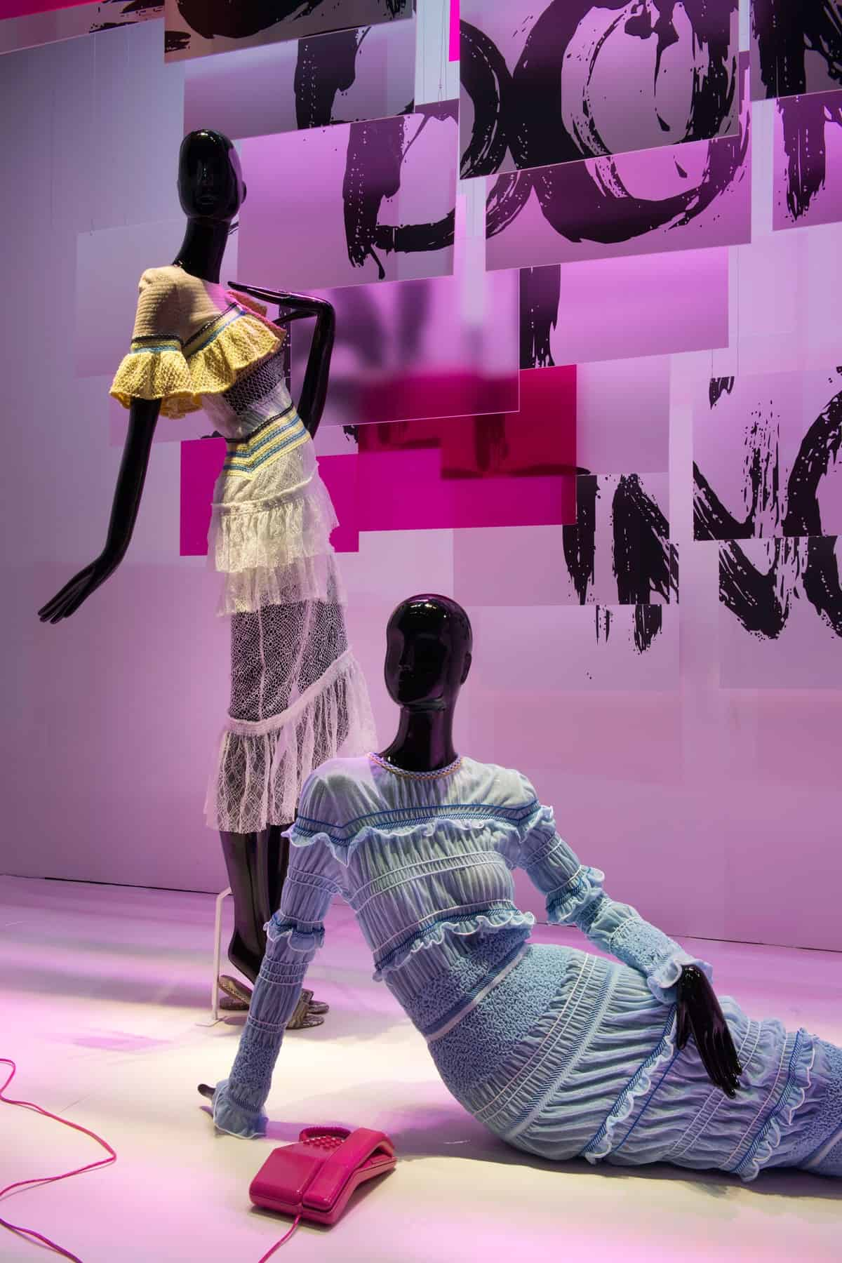 Aloof Mannequins by Bonaveri for Peter Pilloto Harrods