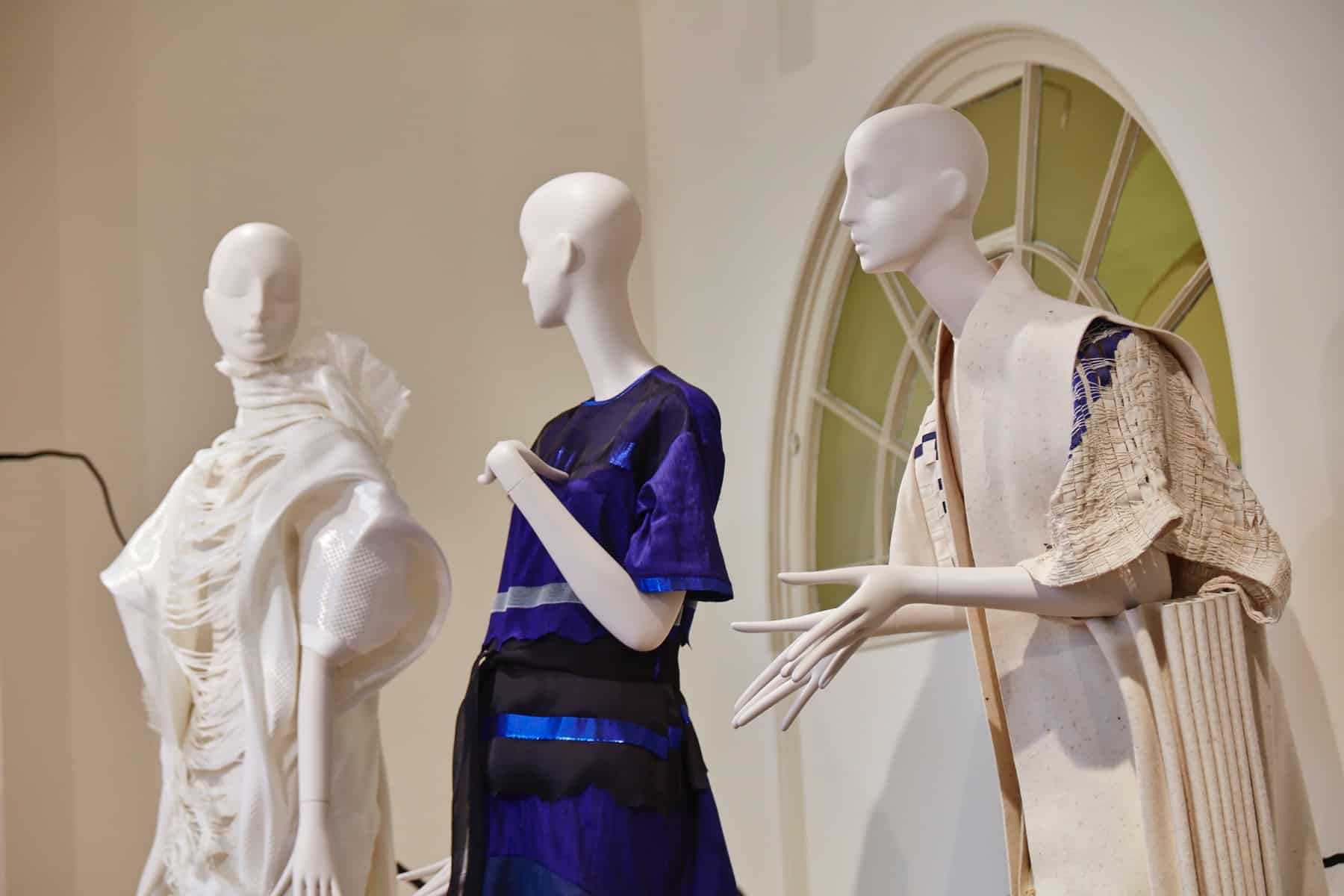 Aloof and Noble mannequins for Fashion Utopias at Somerset House, international fashion showcase 2016