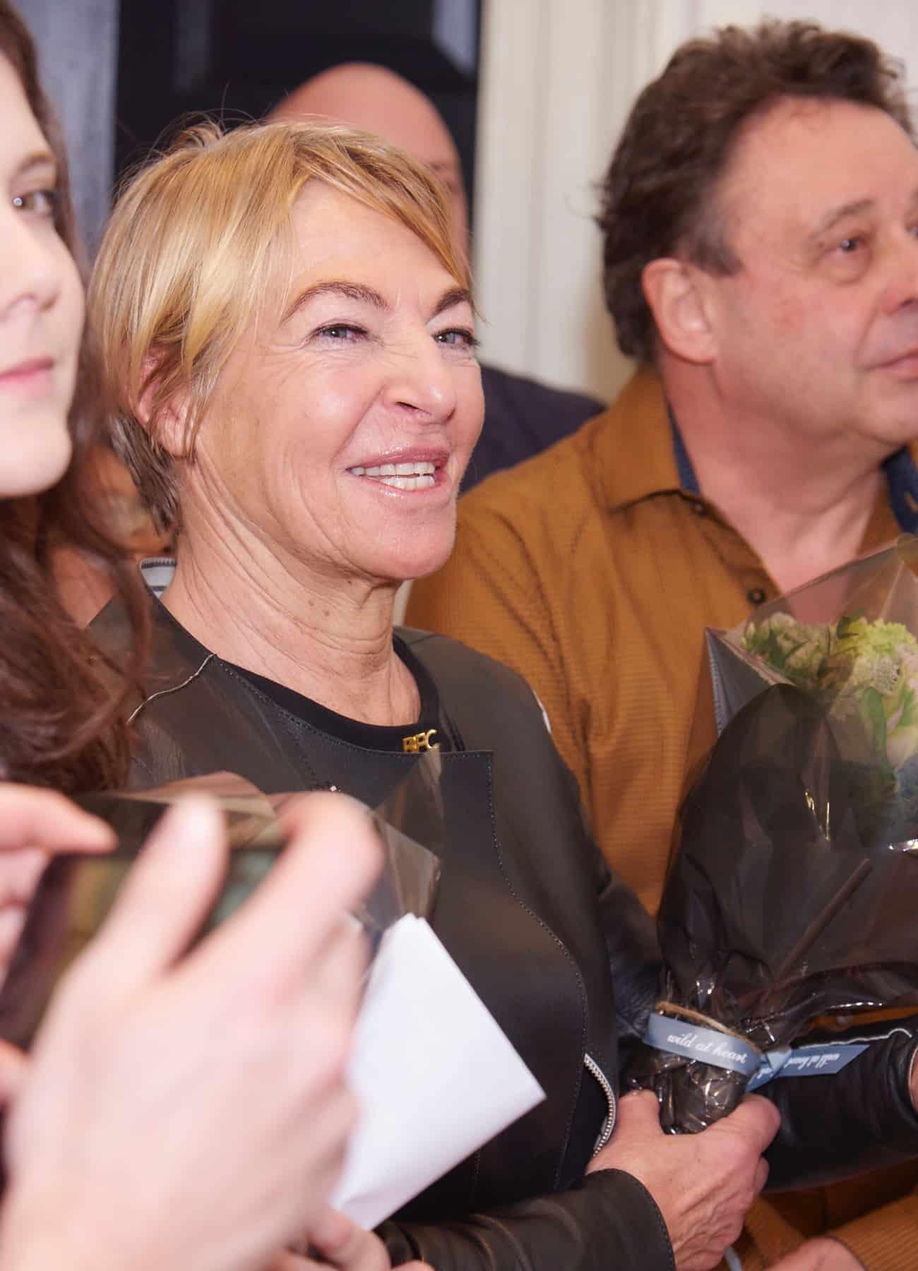 Anna Orsini of British Fashion Council at ifs curator award 2016