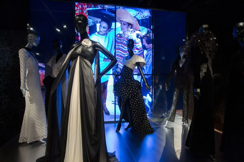 Countess Jacqueline de Ribes at the Met Museum in New York