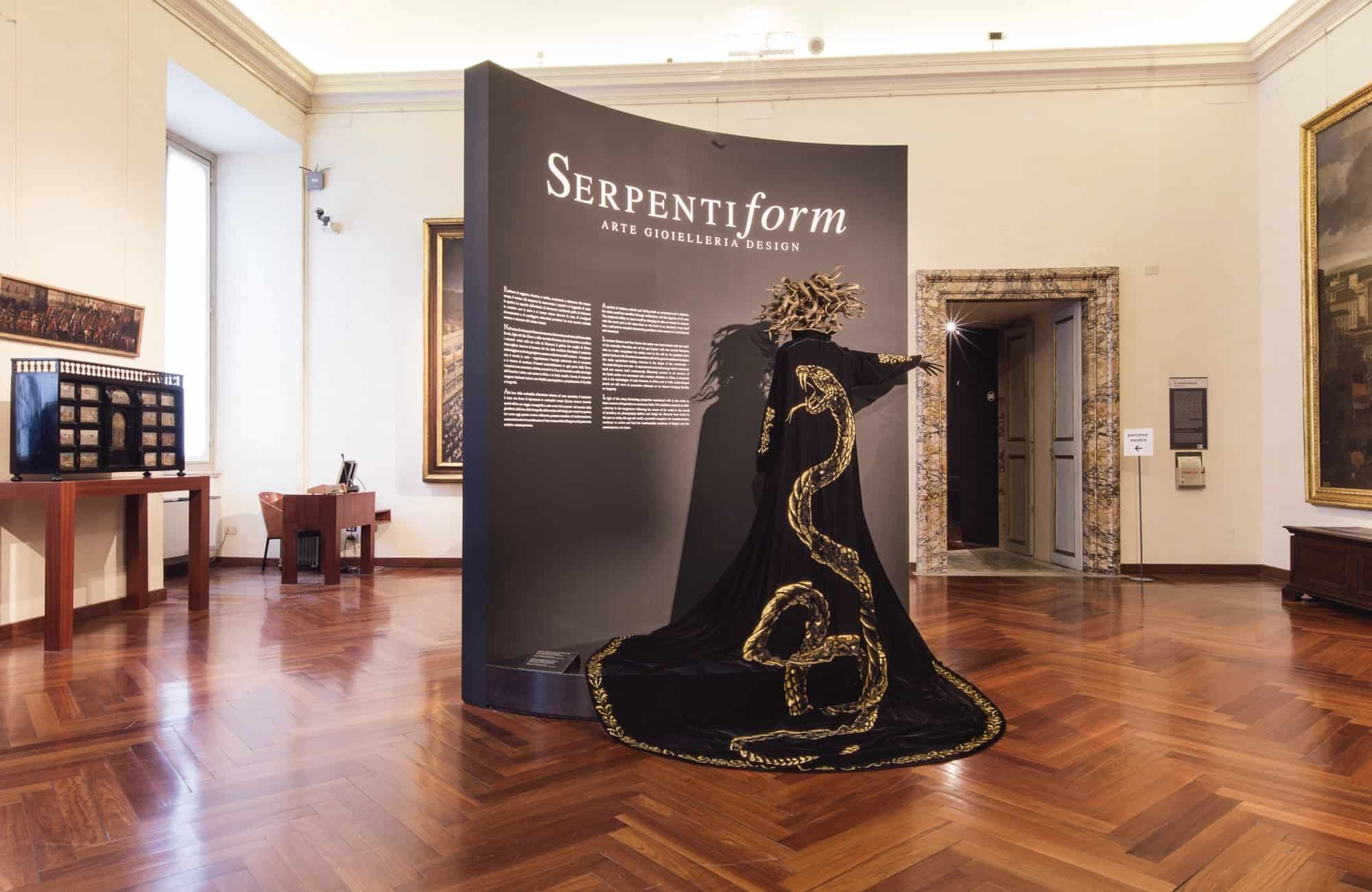 bulgari schlappi 2220 exhibition serpentiform rome
