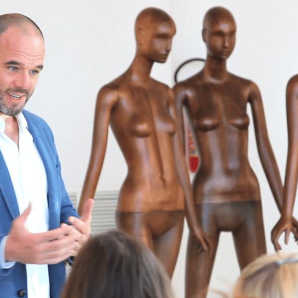 Bonaveri presentation with fashion students