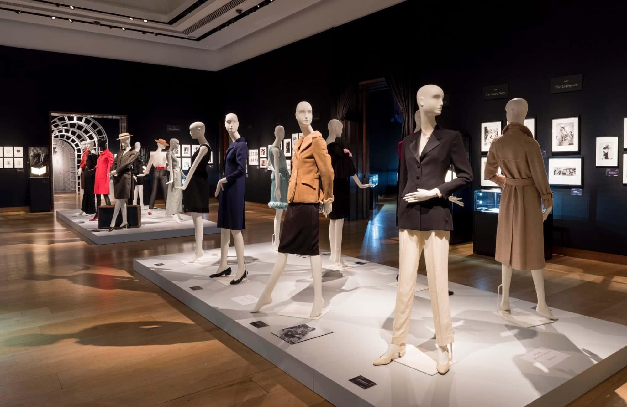 Schläppi 2200 mannequins for Audrey Hepburn exhibition at Christie's