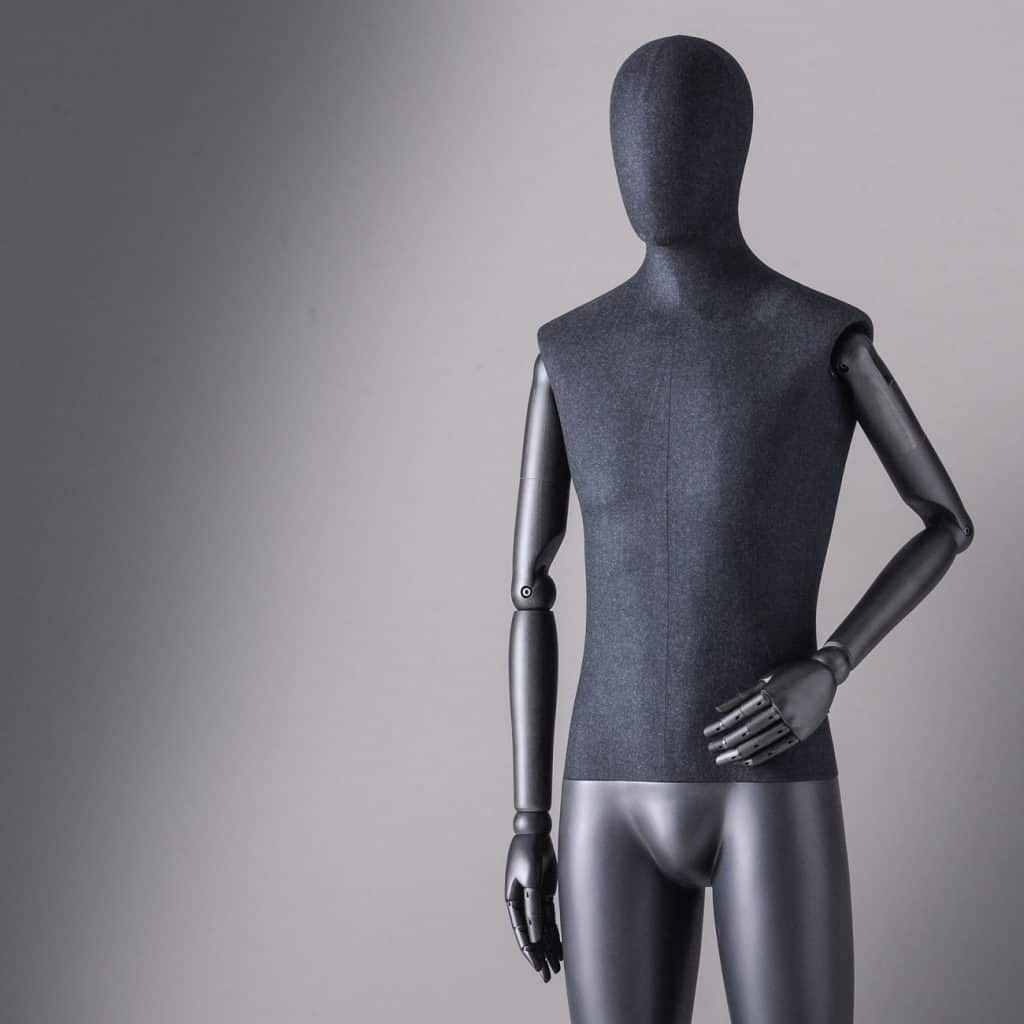 Sartorial Men | Male mannequin with fixed legs and articulated arms