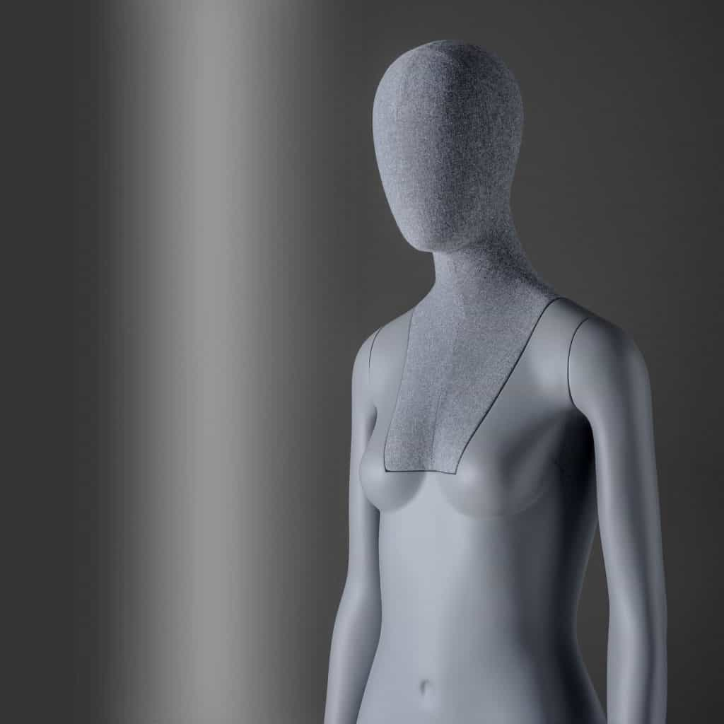 Sartorial Women | Female mannequin with fixed arms