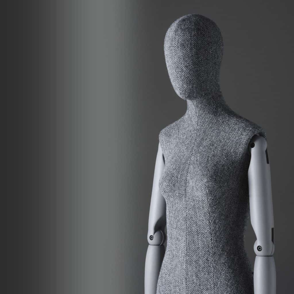 Sartorial Women | Female bust form with articulated arms