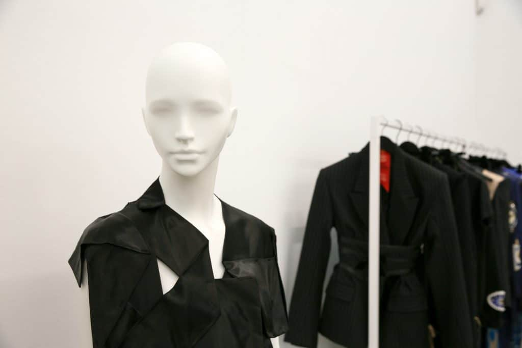 Phoebe English at LONDON show ROOMS in Paris