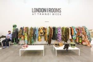 Richard Quinn at LONDON show ROOMS in Paris