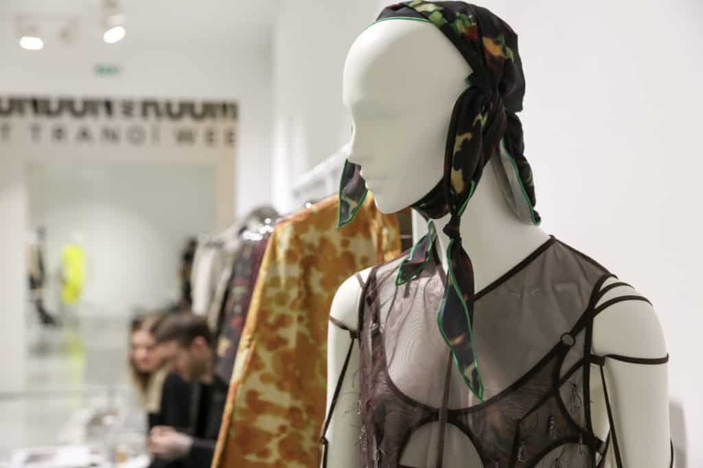 Charlotte Knowles at LONDON show ROOMS in Paris
