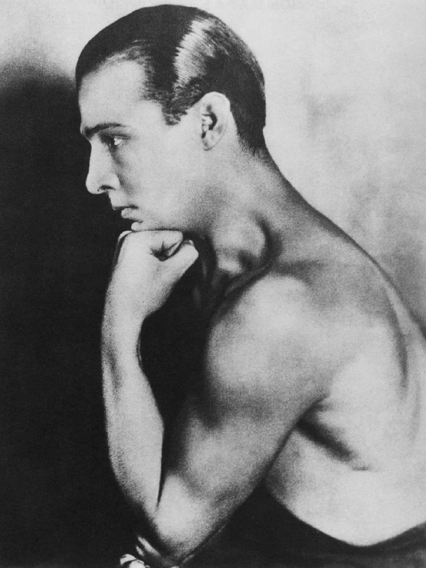 Fellow Italian, Rudolph Valentino was a rising star in the fledgeling Hollywood film industry at the time.