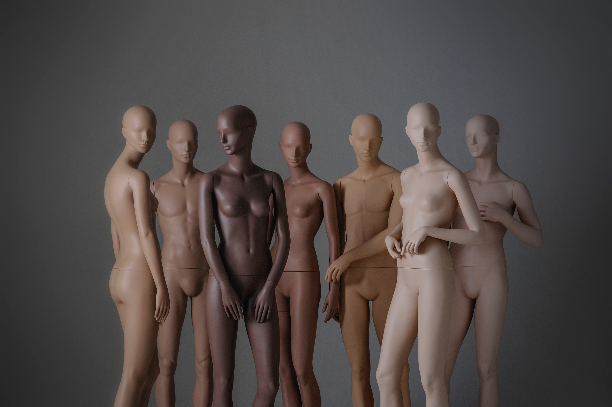 Tribe Mannequins in multiple colours