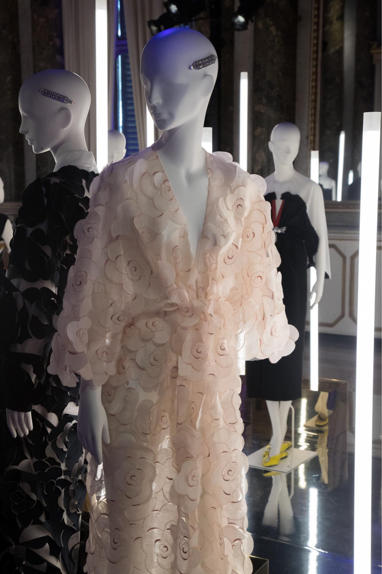 VGrass Studio installation at MIlan Fashion Week with Tribe Mannequins