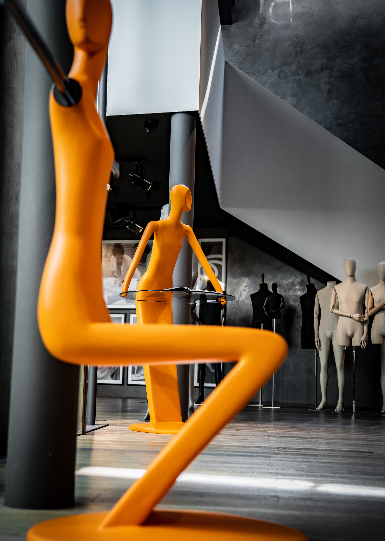 schlappi mannequins milan design week exhibition