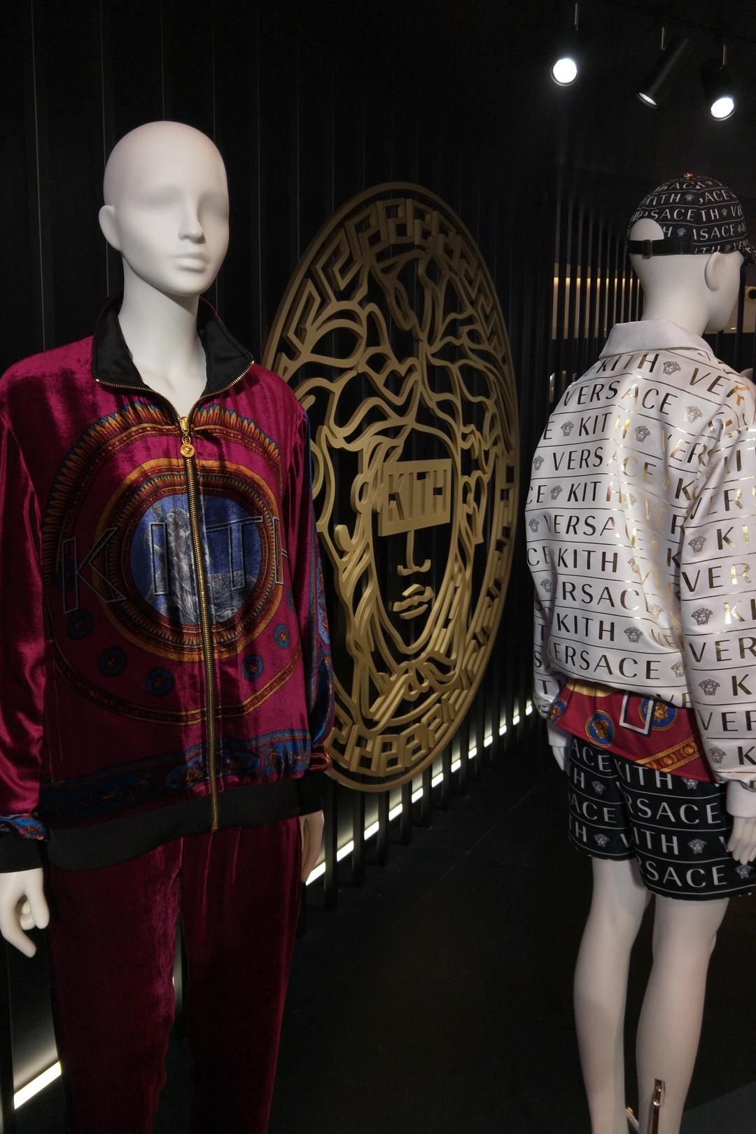 kith versace shanghai bespoke mannequins