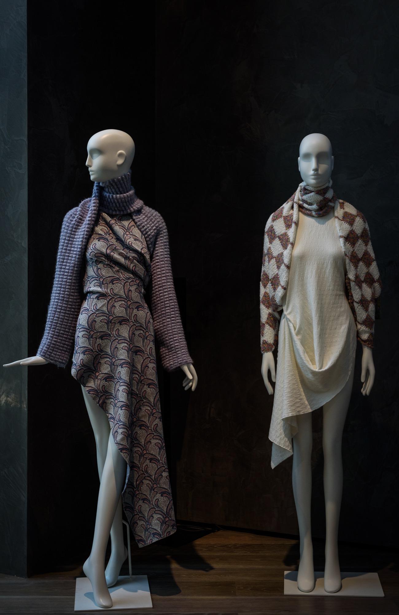 Schläppi 2000 female mannequins for Linea Piu exhibition
