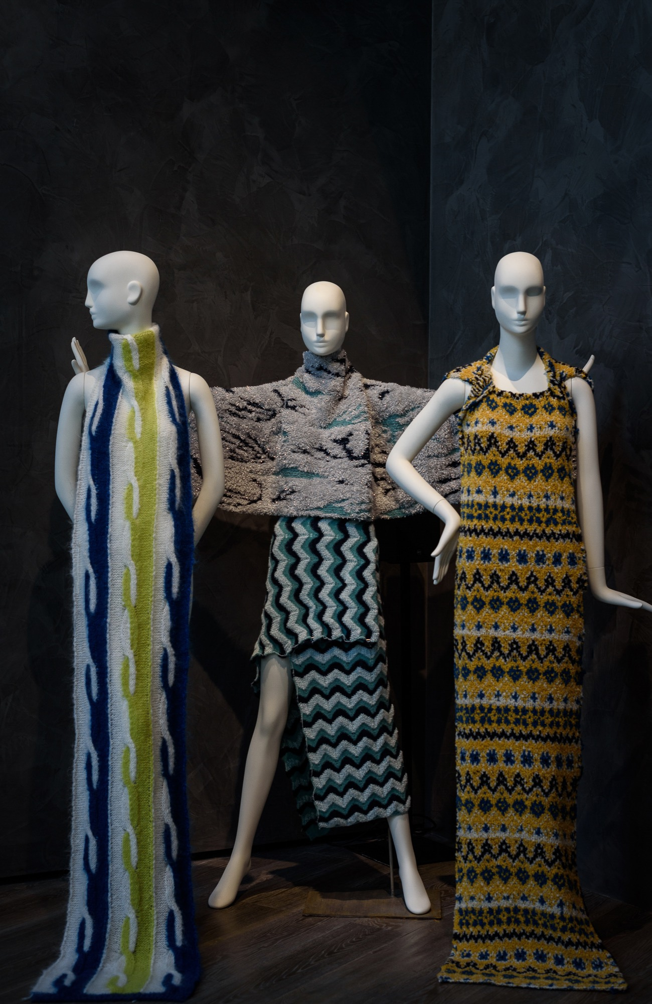 Schläppi 2200 female mannequins for Linea Piu exhibition