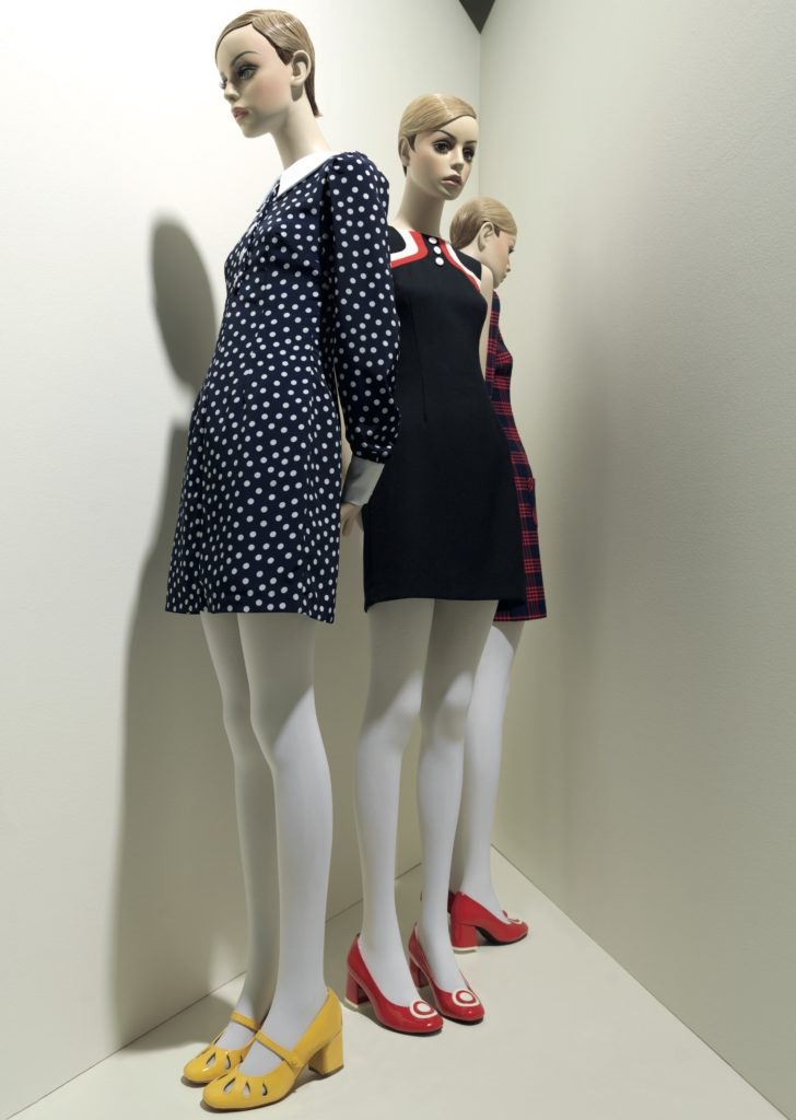 A group of new Twiggy mannequins standing in a corner
