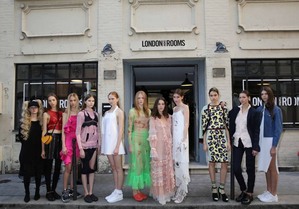 British Fashion Council London Showrooms Paris SS16