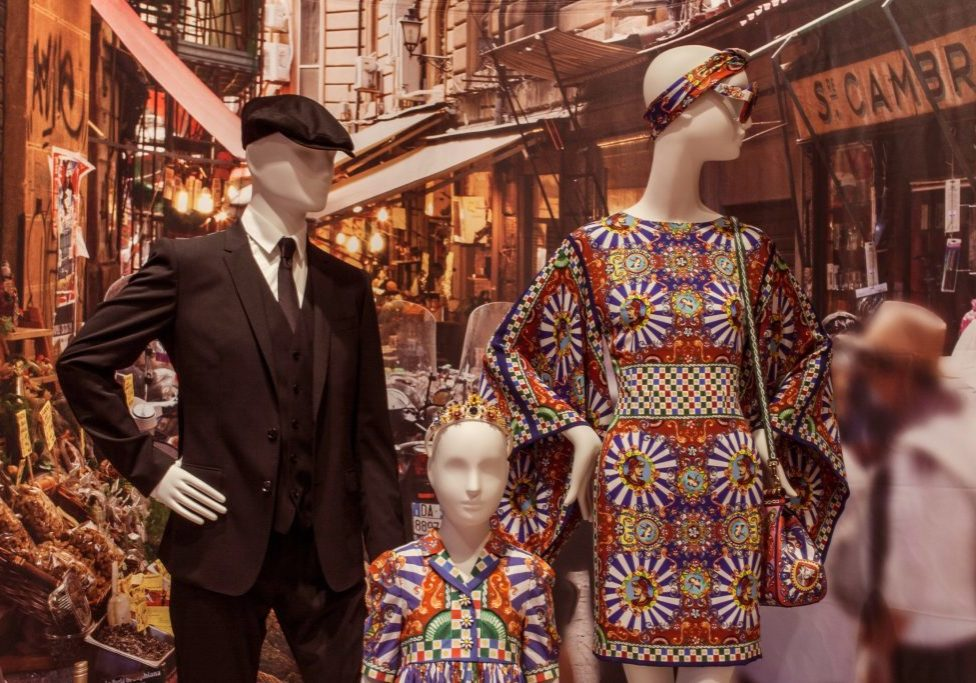 carretti dolce and gabbana mannequins