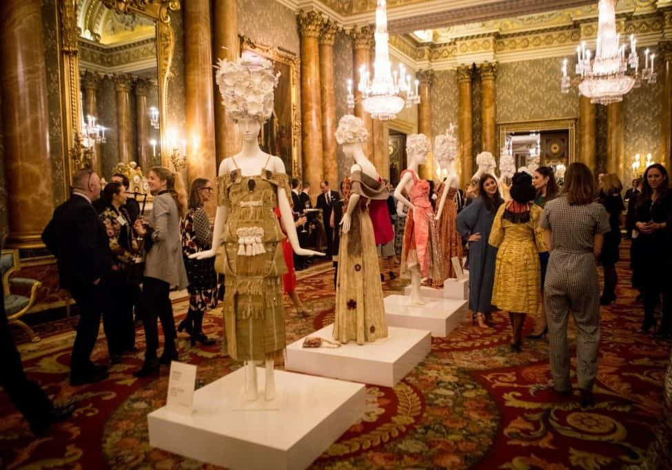 Commonwealth fashion Exchange at Buckingham Palace