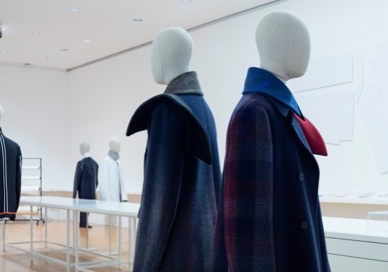 Bonaveri bust forms for Jil Sander Present Tense exhibition in Frankfurt