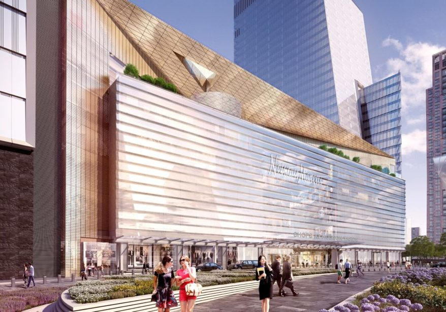 Rendering of Nieman Marcus Hudson Yards, New York