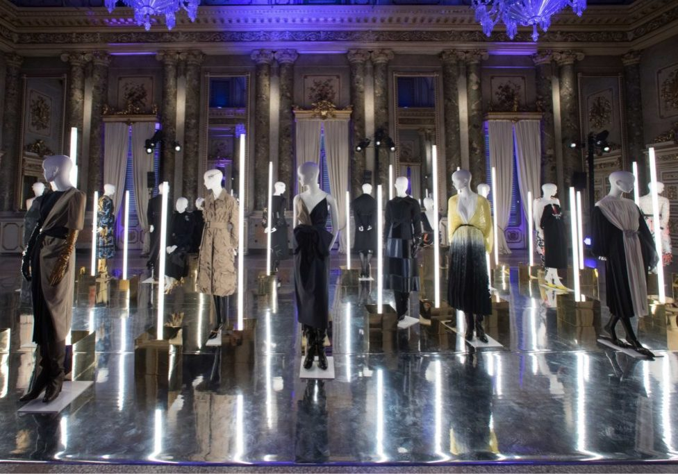 VGrass Studio installation at MIlan Fashion Week with Tribe Mannequins